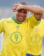 Ronaldinho amarelou na copa de 2006