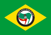 Bandeira do Brasil Antidireitista