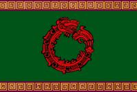 Bandeira dos Astecas