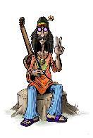 Bicho grilo hippie