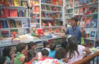 Contação de Histórias em livraria