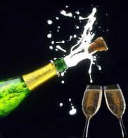 champanhe com taças