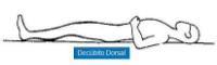 decúbito dorsal
