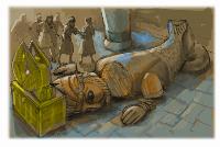 Dagom, era um deus cultuado pelos filisteus, quando filisteus tomaram a arca de Deus dos Israelitas