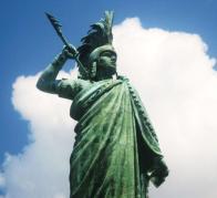 Imagem de estátua
