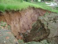 erosão pluvial