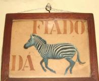 Fiado dá zebra