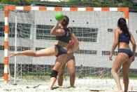 Imagem de handebol de areia