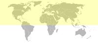 hemisfério norte