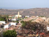 Visão do distrito de Jamacaru