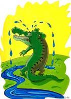 l�grimas de crocodilo