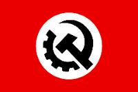 Bandeira do nacional-bolchevismo americano