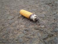prisca de cigarro
