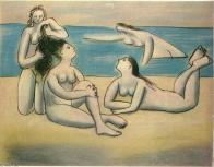 Pablo Picasso - Banhistas- obra de1920