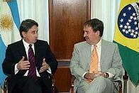 porfia entre Brasil e Argentina