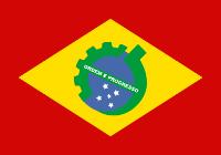 Bandeira da República Socialista Federativa do Brasil (RSFB) - Brasil Socialista Revolucionário
