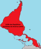 Mapa da URSAL