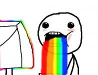 vomitar arco-íris