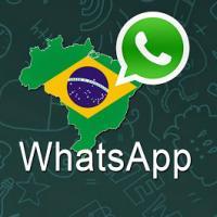 Vulgo expressão adapta para o português brasileiro de pedindo para entrar em contato via aplicativo