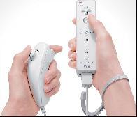 Controle do Nintendo wii.