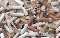 xepa, bituca de cigarro
